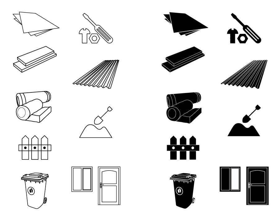 Penyertaan Peraduan #                                        23                                      untuk                                         Create 9 x Custom SVG Icons