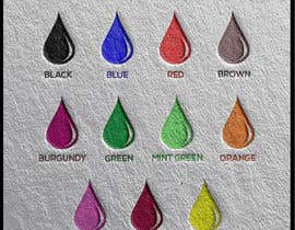 #113 for Ink Swatch Color Graphic by mutassimbillah78