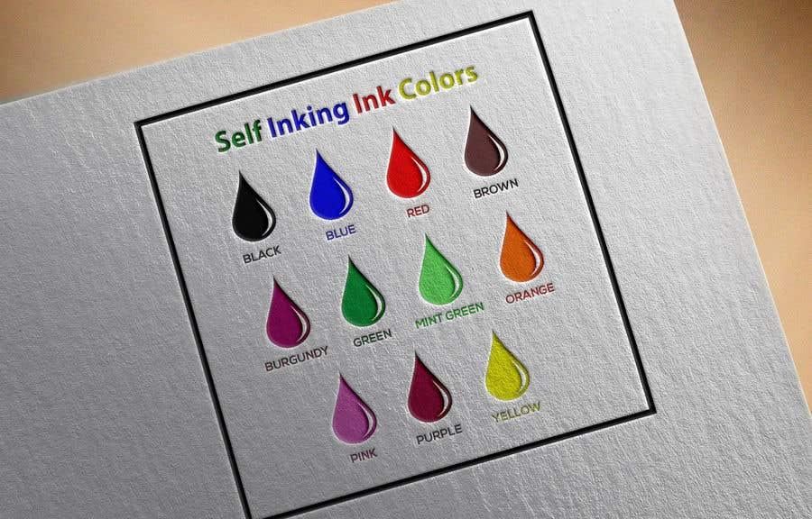 Kilpailutyö #                                        125                                      kilpailussa                                         Ink Swatch Color Graphic