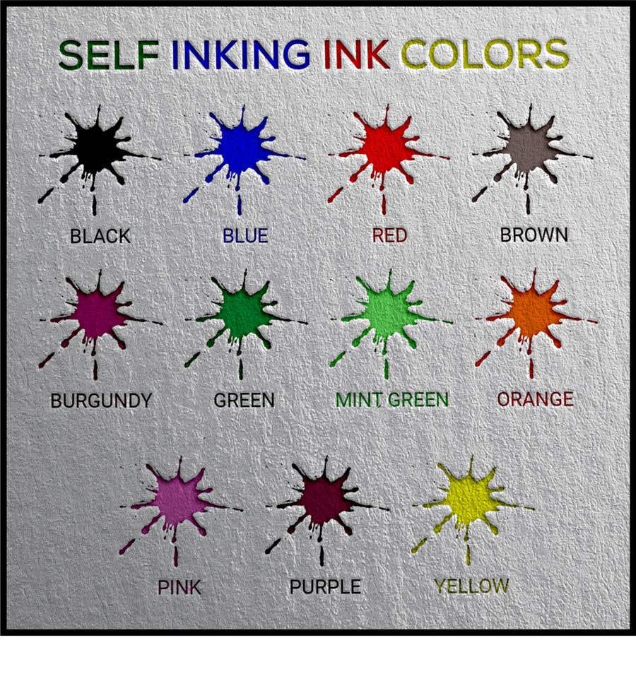 Kilpailutyö #                                        122                                      kilpailussa                                         Ink Swatch Color Graphic