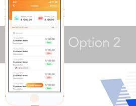 nº 19 pour Design 2-3 screens of Invoicing App par anuragrocks09