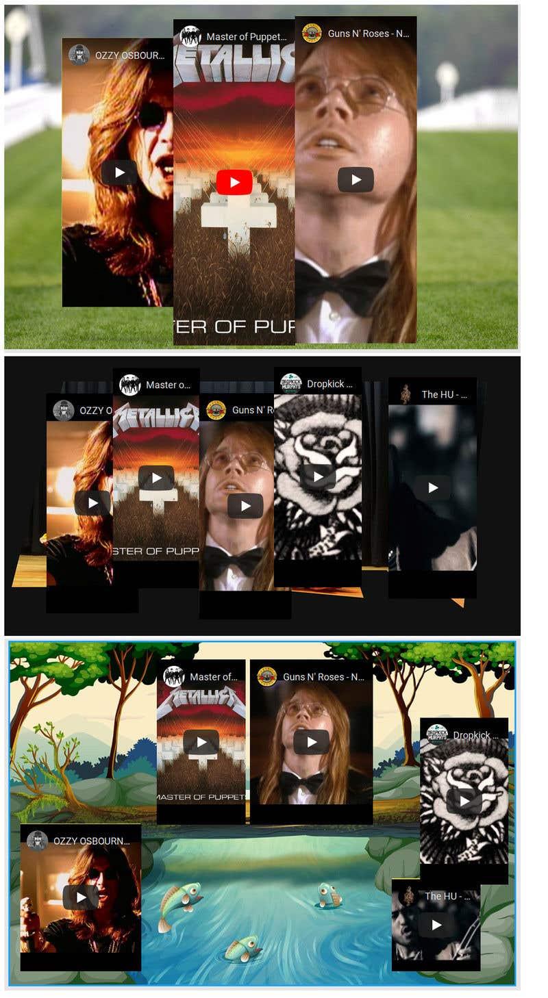 Kilpailutyö #                                        10                                      kilpailussa                                         HTML Placing Captured Videos into Scene