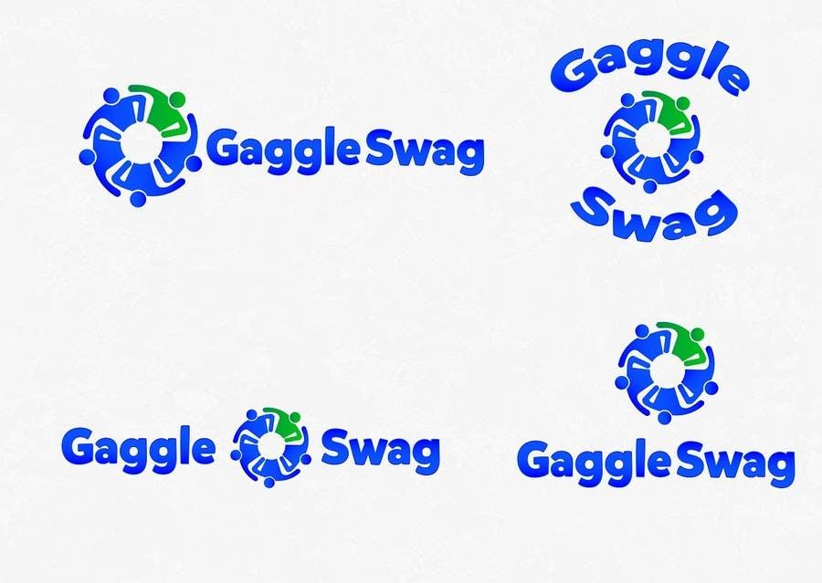 Kilpailutyö #                                        19                                      kilpailussa                                         Logo for GaggleSwag