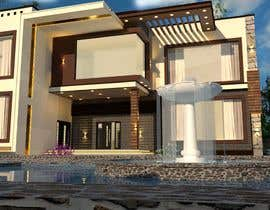 #109 untuk Design exterior elevation for residential villa oleh rafiwork42
