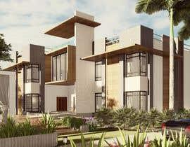 #99 untuk Design exterior elevation for residential villa oleh vigneshkiran