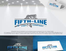#220 for Fifth-line fish Company Logo by eddesignswork