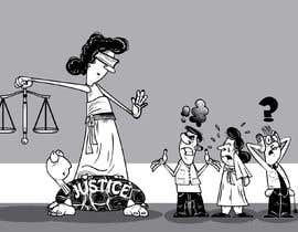 #4 for Justice Delayed is Justice Denied - cartoon / caricature af mapacce