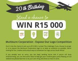 #68 for A5 print design for competition af lihdaf
