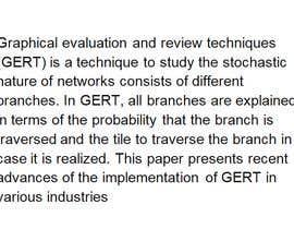 #20 untuk suggest GERT application for oil industry oleh yadavsuman0870