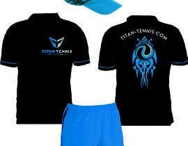 Nro 56 kilpailuun Design an athletic performance shirt for a tennis academy. käyttäjältä Luard0s