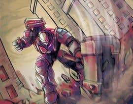 #22 untuk Creative Artist needed for coloring line art sketch oleh yagizerturk