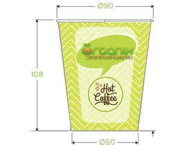 #10 for Create Print and Packaging Design for a takeaway coffee cup by Nurihah
