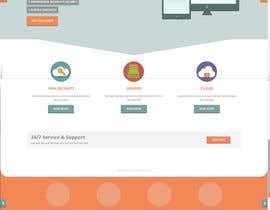 #9 for Design a Website Mockup + Logo by aplesea95