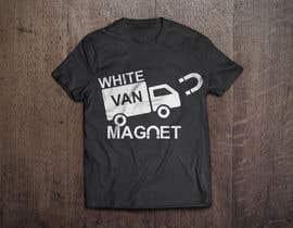 #17 cho Design me a tshirt - White Van Magnet bởi Shakibfardin