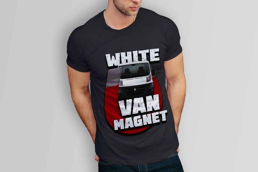 Bài tham dự cuộc thi #                                        6                                      cho                                         Design me a tshirt - White Van Magnet