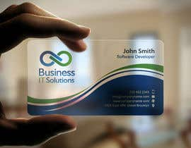 mdreyad tarafından Design some Business Cards for Business IT Solutions için no 20