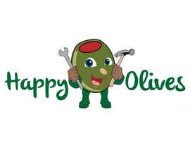 #21 pentru Design a Logo for Happy Olives - Construction de către topprofessional