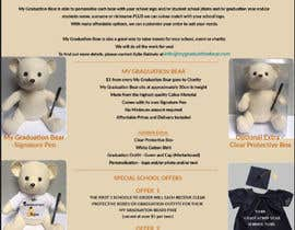 #28 pentru Create an A4 Brochure design for My Graduation Bear de către ayishascorpio