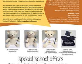 #26 pentru Create an A4 Brochure design for My Graduation Bear de către prisampath