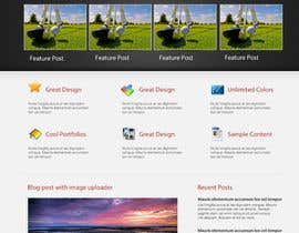nº 6 pour Wordpress Theme Design for GB Golfer par sarfarazleghari