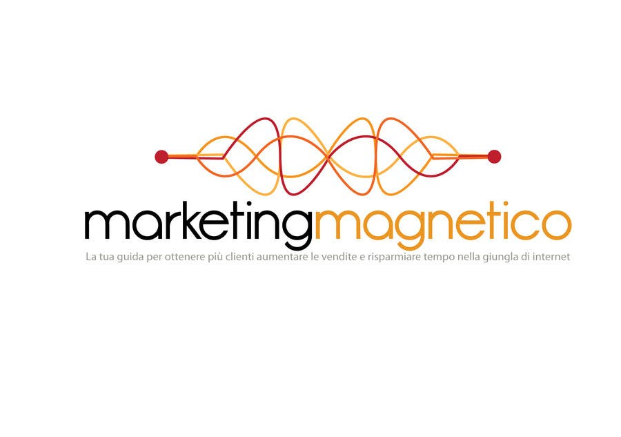 #45 for Logo Design for Marketing Magnetico by branislavad
