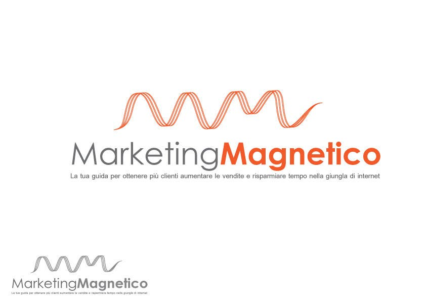 Konkurrenceindlæg #                                        90                                      for                                         Logo Design for Marketing Magnetico