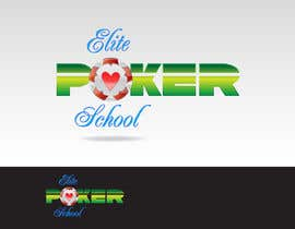 #87 para Logo Design for ELITE POKER SCHOOL de pupster321