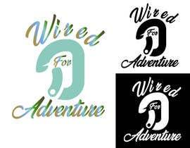#177 untuk Masthead and logo design for Wired For Adventure oleh boskomp