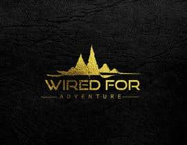 #167 untuk Masthead and logo design for Wired For Adventure oleh selinanoor12