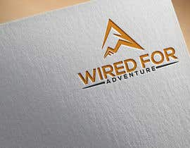 #172 untuk Masthead and logo design for Wired For Adventure oleh mddider369