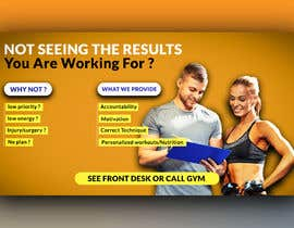 #45 untuk Personal Training Posters oleh graphicsNabilZ