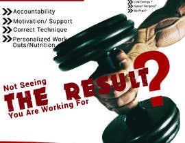 #38 untuk Personal Training Posters oleh fahmidaislam876