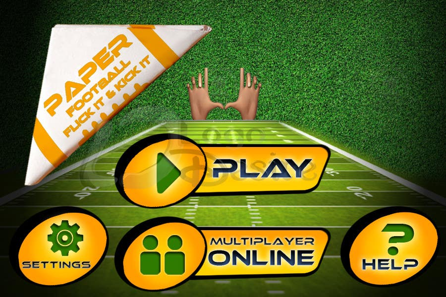#133 for Graphic Design - Give our Paper Football Game Menus a NEW LOOK! by logodesire