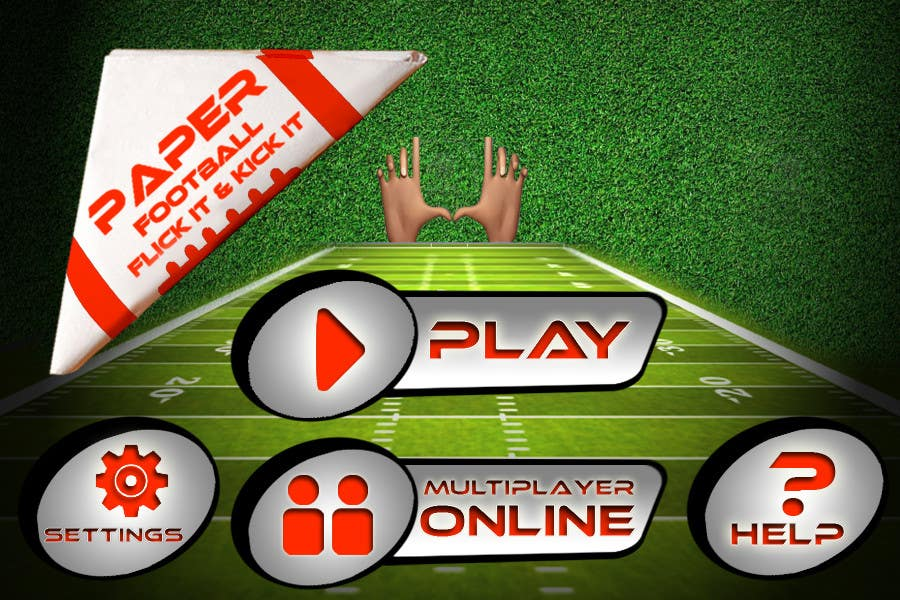 #135 for Graphic Design - Give our Paper Football Game Menus a NEW LOOK! by logodesire