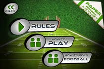 Contest Entry #147 for Graphic Design - Give our Paper Football Game Menus a NEW LOOK!