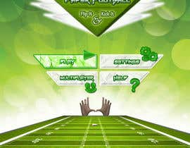 #102 for Graphic Design - Give our Paper Football Game Menus a NEW LOOK! by madiful