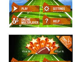 #103 cho Graphic Design - Give our Paper Football Game Menus a NEW LOOK! bởi YogNel
