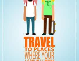 "#30 for Illustrate Something for the quote: ""If you're going to travel, go somewhere where your accent is sexy."" by mosartes"