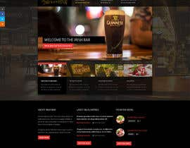 #40 untuk Build a Website for an Irish Pub oleh gopinathnaidu