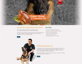 tania06 tarafından Build a Word Press Site for All Natural Dog Food Company için no 20