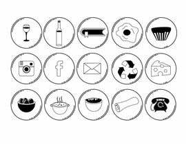 #36 pentru Design some Icons for French Website de către stojicicsrdjan