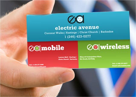 Contest Entry #                                        22                                      for                                         Business Card Design for Electronics/Technology Store