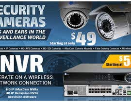 #15 for Design a Banner for Security Camera Systems by keriaoz