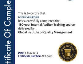 #36 for I need some Graphic Design for training certificate by ashstriker