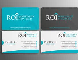 #17 for Design Company Logo, Business Card, PowerPoint & 1-pager templates for hospitality consulting firm by anibaf11