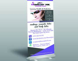 #3 untuk Design an Advertisement for a rollup banner oleh Nurihah