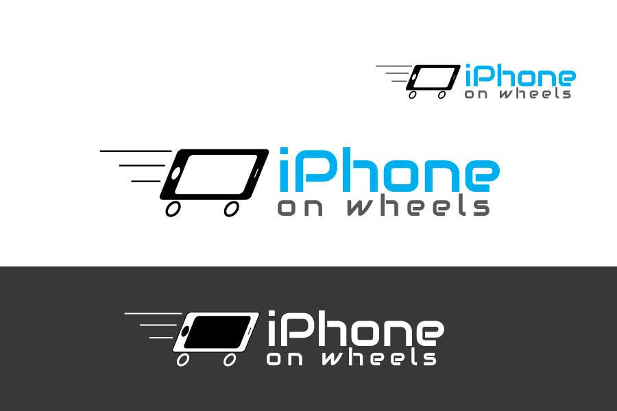 Kilpailutyö #                                        14                                      kilpailussa                                         Logo Design for iPhone Repair Company