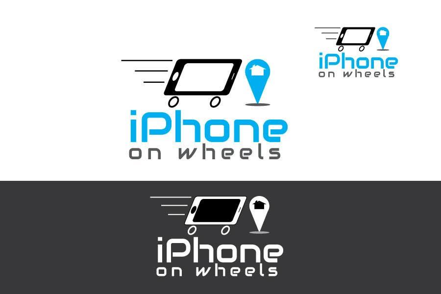 Kilpailutyö #                                        15                                      kilpailussa                                         Logo Design for iPhone Repair Company