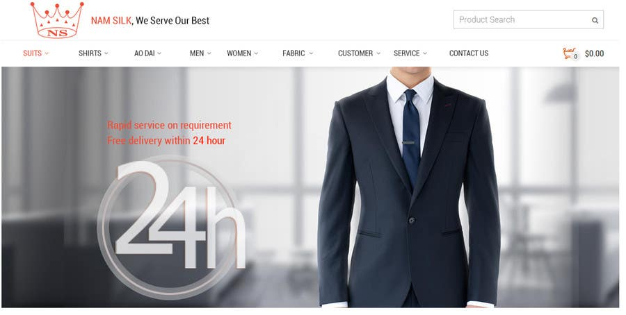 Bài tham dự cuộc thi #1 cho Design a Wordpress Mockup for price comparison and coupon website