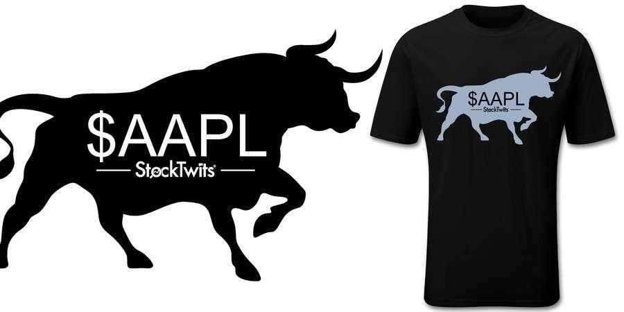 Contest Entry #10 for Design a T-Shirt for stock market